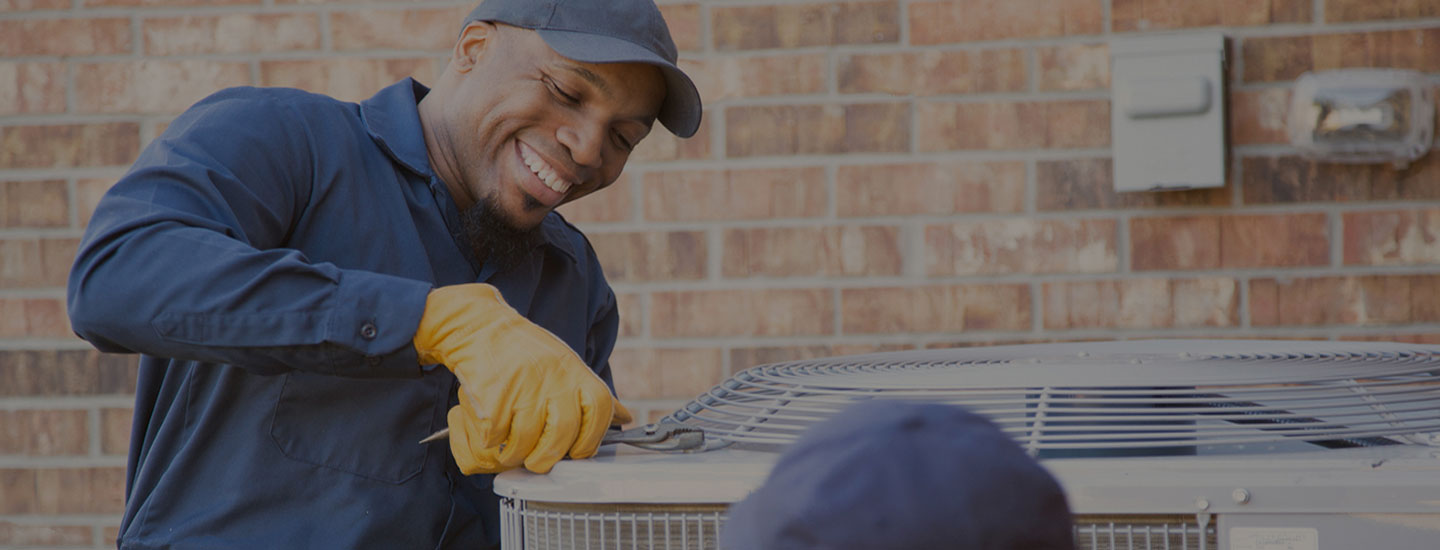 HVAC Specialist fixing HVAC